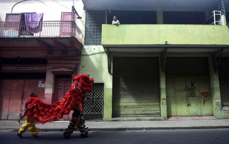 Image: PANAMA-CHINA-LUNAR-NEW YEAR