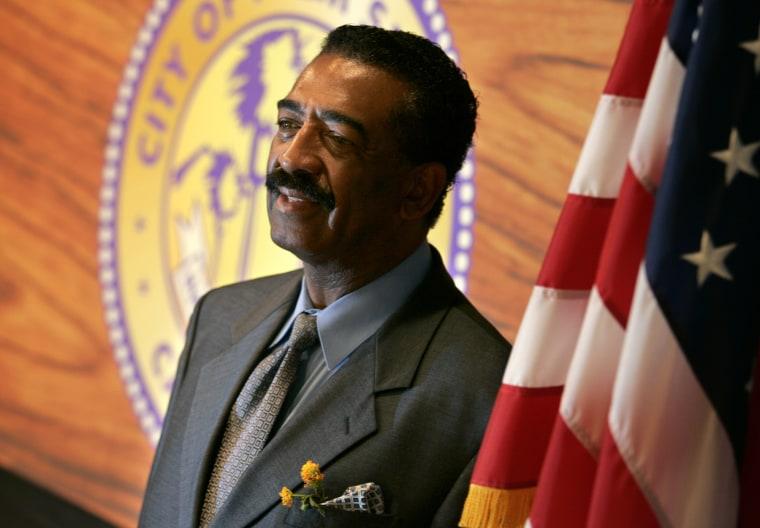 Image: Palm Spring's mayor Ron Oden, April 18, 2006.