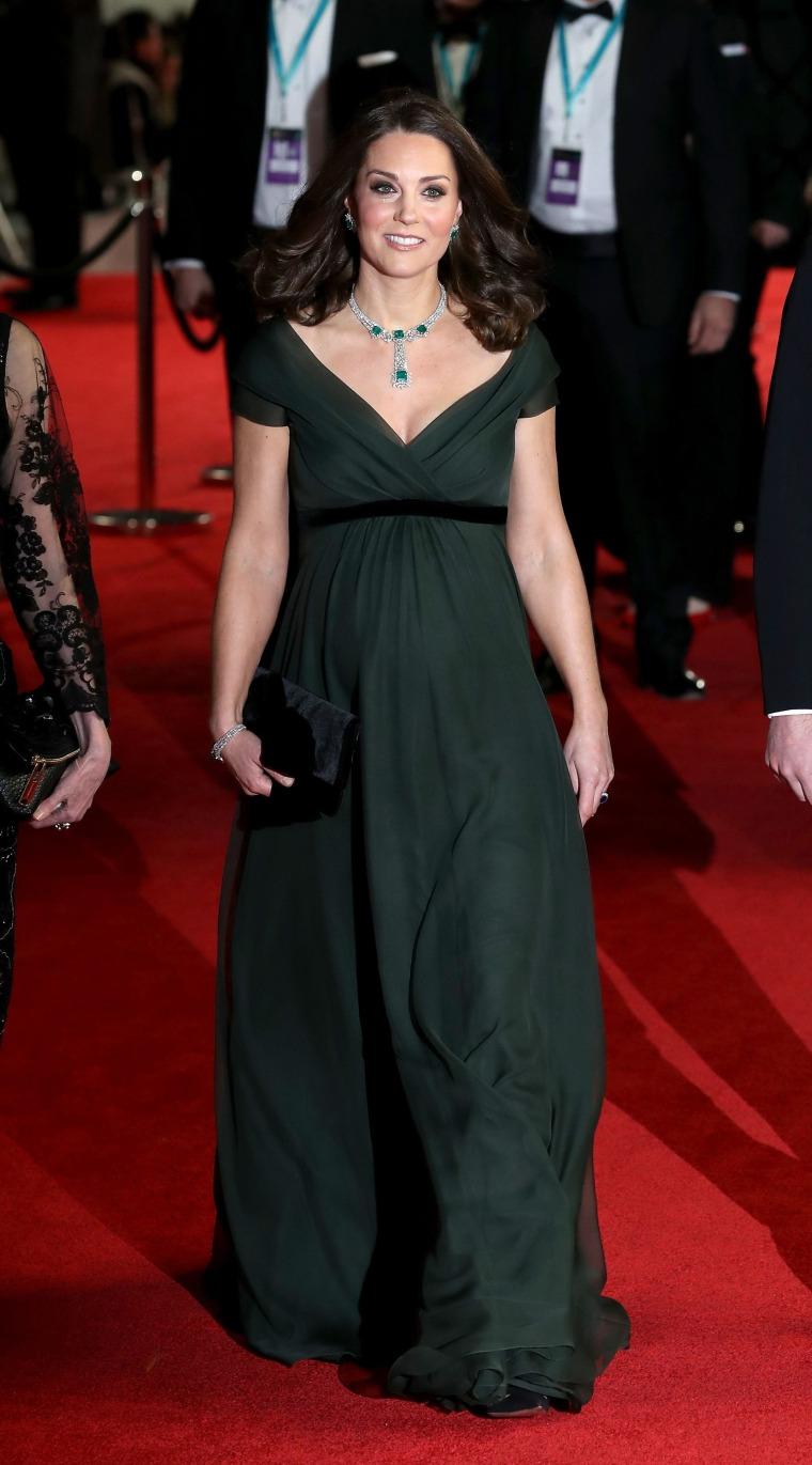 Image: BRITAIN-ENTERTAINMENT-FILM-AWARDS-BAFTA-ROYALS