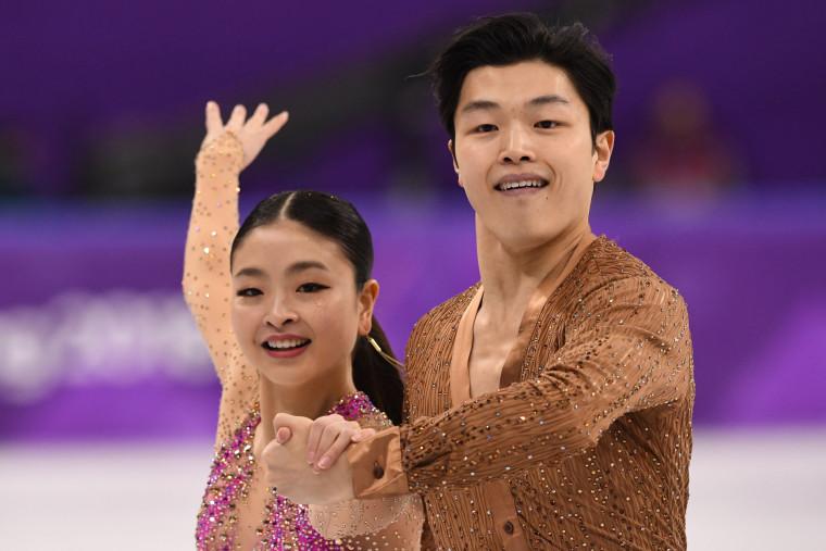 USA's Alex Shibutani and USA's Maia Shibutani