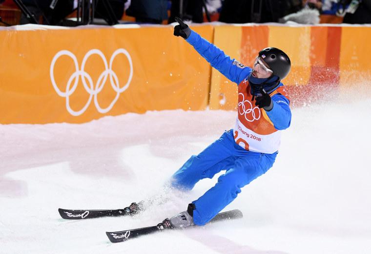 Jon Lillis competes at Pyeongchang Olympics