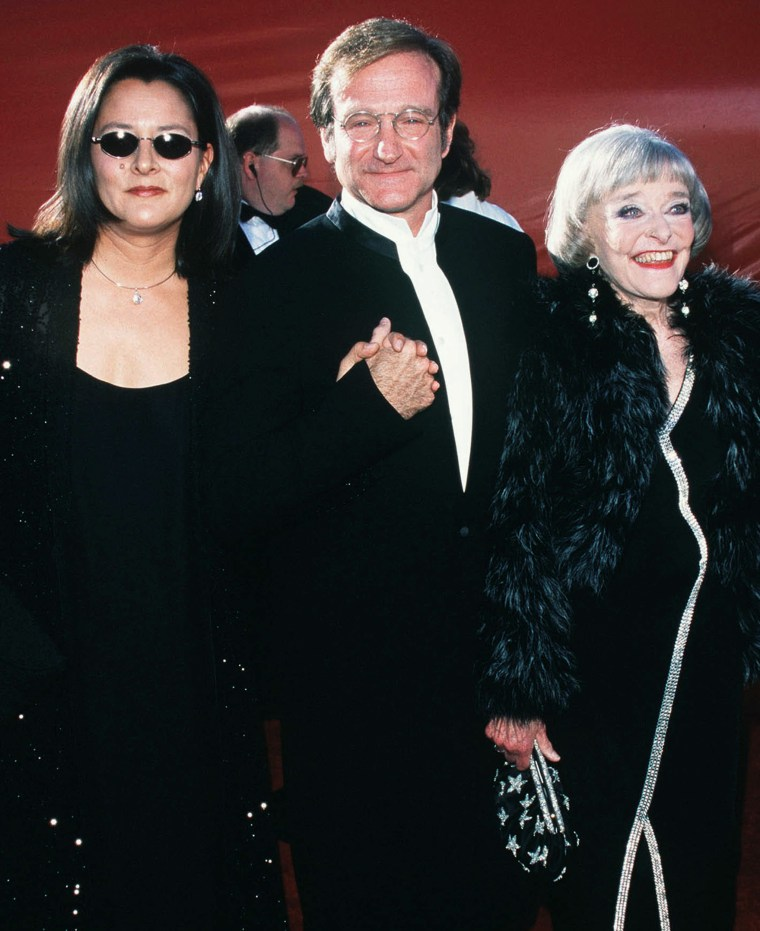 Robin Wililams, his wife Marsha and mother Laurie.