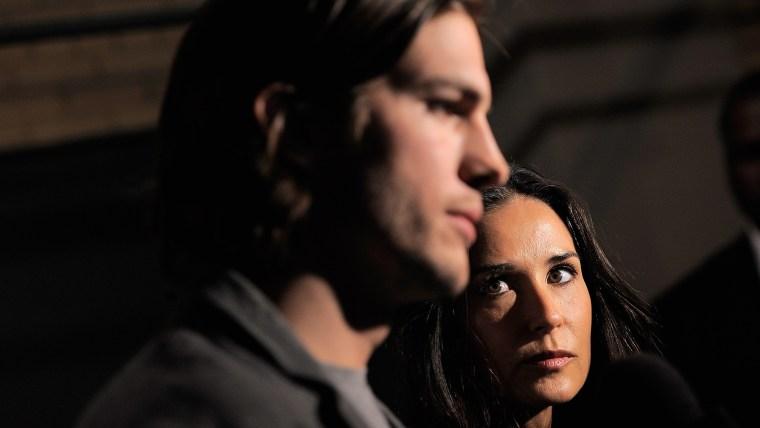 Image: FILE: Demi Moore Divorcing Ashton Kutcher