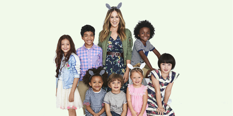 AliExpress köpa bäst smuts billigt Sarah Jessica Parker launches Gap Kids clothing collection