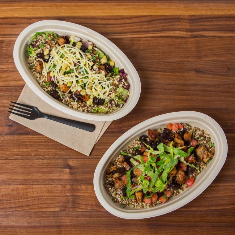 Chipotle gives quinoa a go at New York City test kitchen.