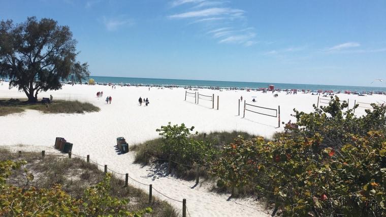 Best US beaches: Siesta Beach, Florida