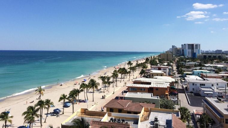 Best US beaches: Hollywood Beach