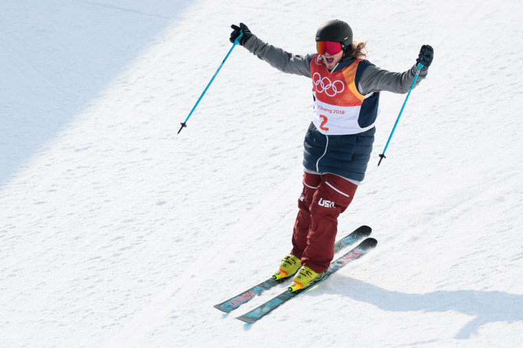 Image: Freestyle Skiing - Winter Olympics Day 13