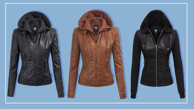 Amazon s best-selling faux leather jacket is perfect for spring (and  affordable) 9a0860c96fad6