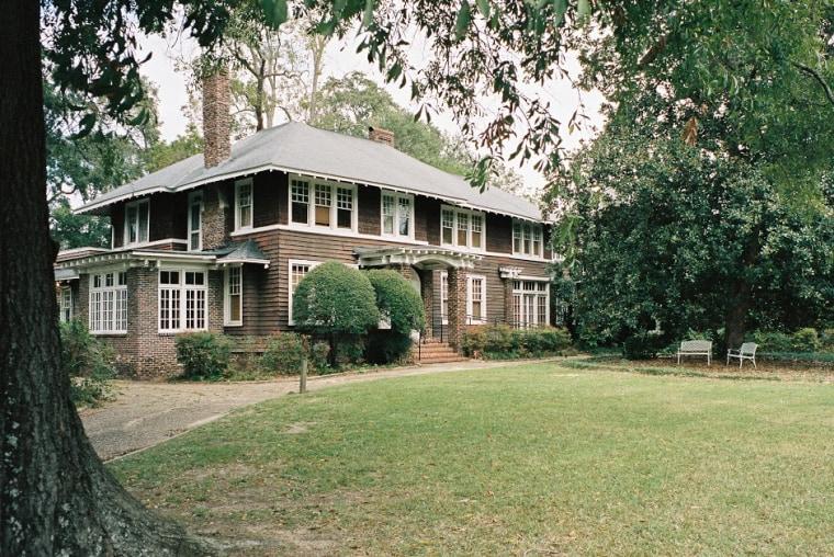 F. Scott and Zelda Fitzgerald's former home