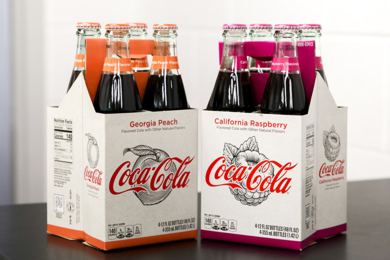 Coca-Cola launches locally inspired flavors with vintage style.