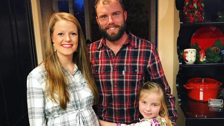 In September Mallory Brinson was surprised to learn she was pregnant with twins.