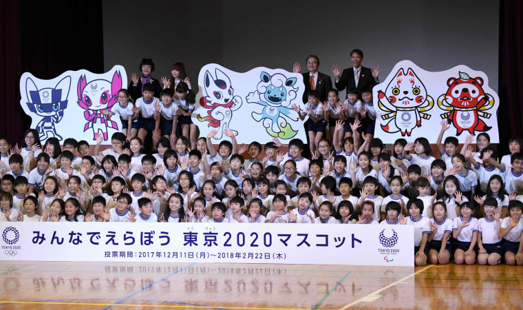 Image: The shortlist of Tokyo 2020 Olympic mascots
