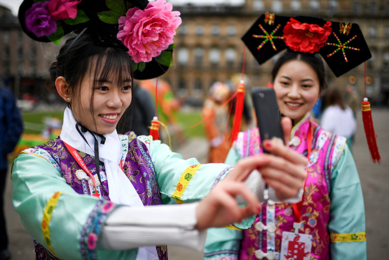 Image: Lunar New Year celebrations in Glasgow