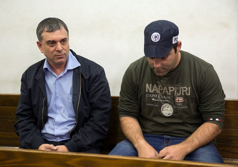 Image: Shlomo Filber (left)