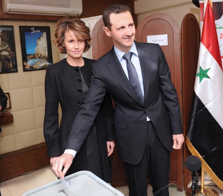 Image: Bashar Assad, Asma Assad