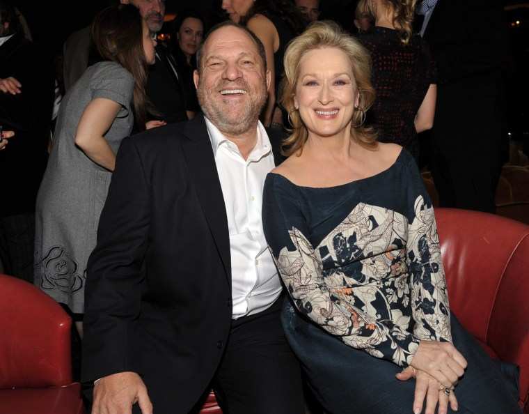 Image: Harvey Weinstein and Meryl Streep