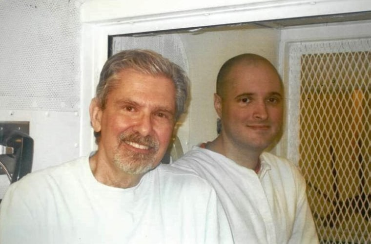 Kent Whitaker, left, is pleading for Texas Gov. Greg Abbott to grant clemency to his son Thomas before he's executed Thursday for masterminding a hit on his family.