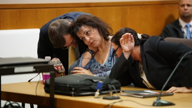 Gina Drake in the Ventura County Superior Courthouse on February 20, 2018.