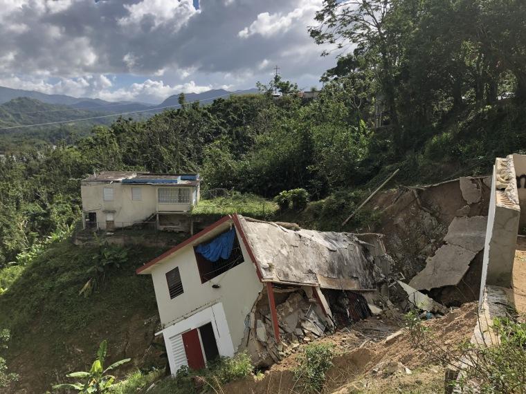 Image: A house in Utuado, Puerto Rico