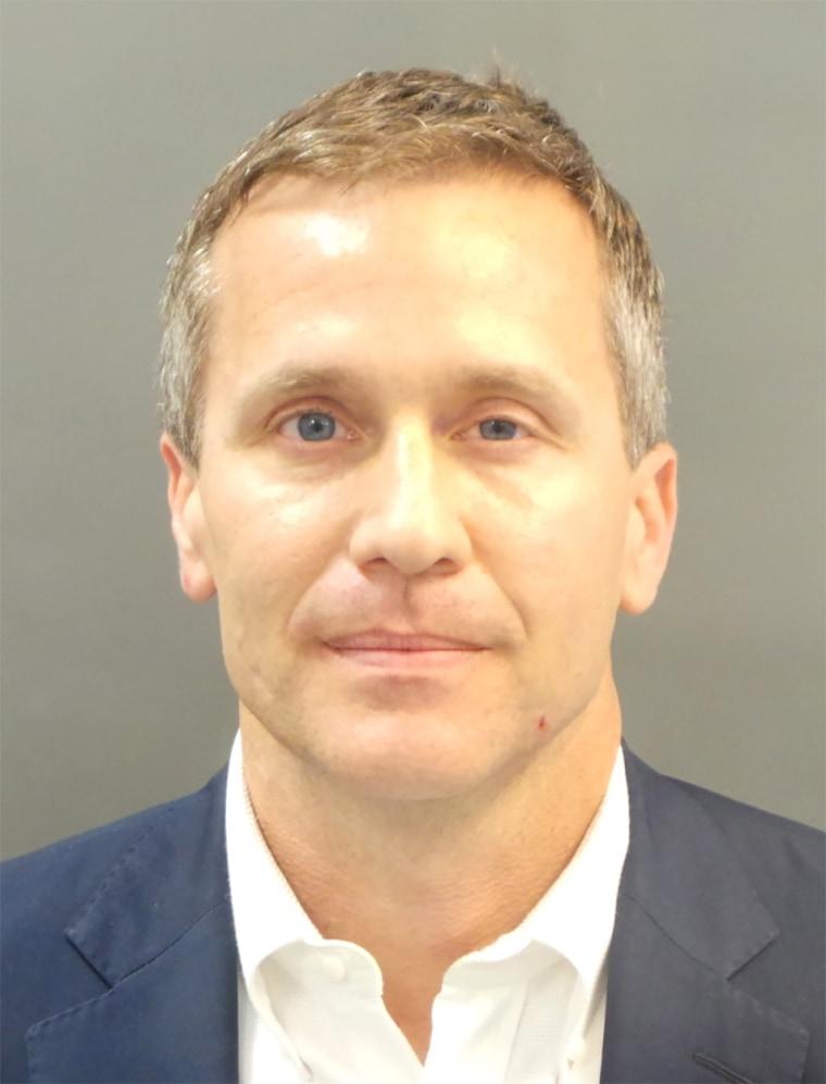 Image: Mugshot Missouri Governor Eric Greitens