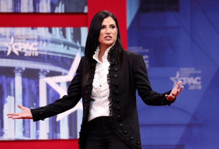 Image: Dana Loesch speaks CPAC conference held in National Harbor, Maryland