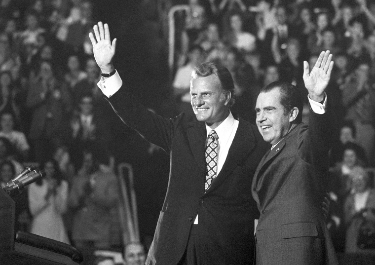 Image: Billy Graham, Richard Nixon