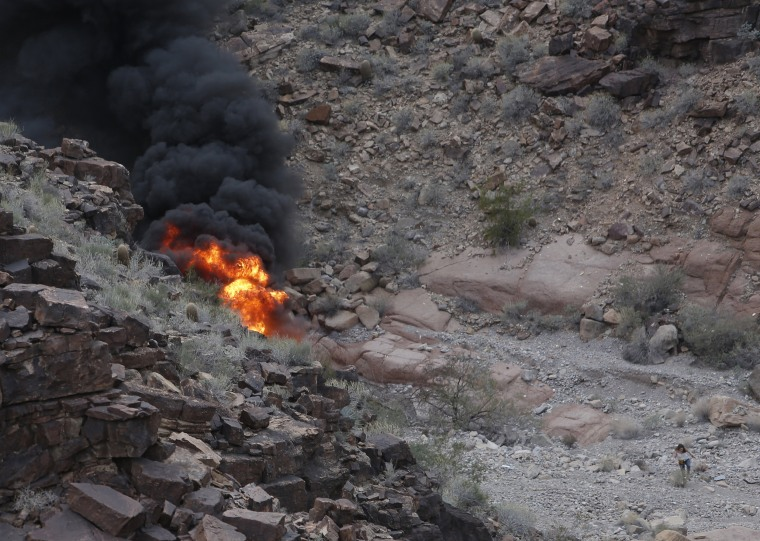Image: Grand Canyon Crash