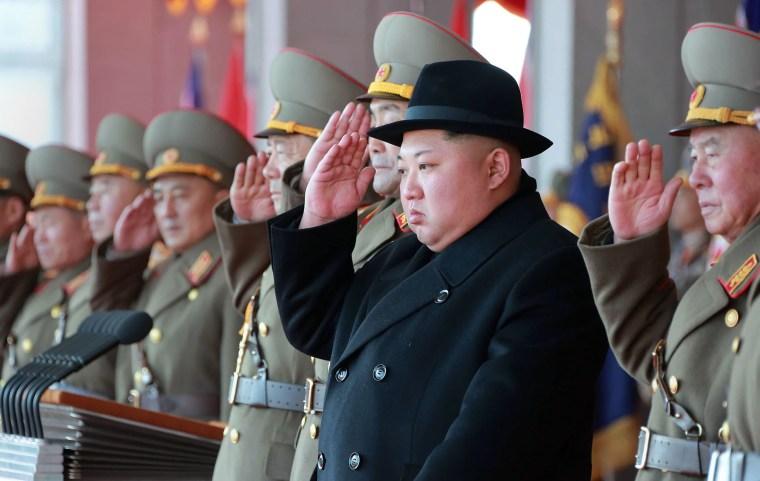 Image: North Korean military parade