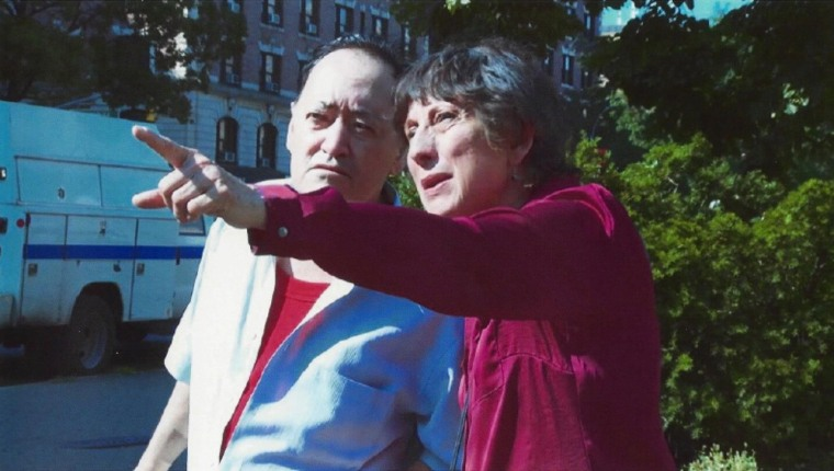 "In the film ""Make America Great Again,"" Tati (Gloria Zelaya) leads her brother Rogelio (Angel ""Chi Chi"" Salazar) on a guided tour of Washington Heights."
