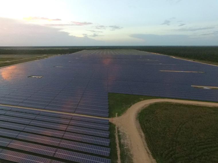 Image: Solar field in Babcock Ranch