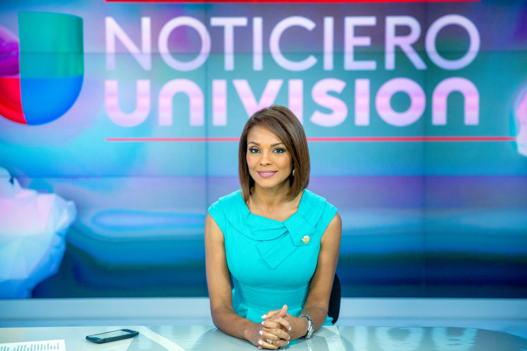 Ilia Calderon has made history as the first Afro-Latina to anchor an evening newscast for a major broadcast network in the U.S.