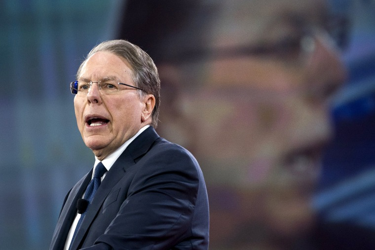 Image: NRA CEO Wayne LaPierre speaks at CPAC Conference in Maryland