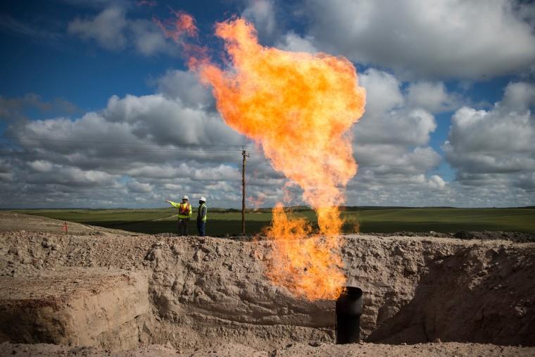 Image: Oil Boom Shifts The Landscape Of Rural North Dakota