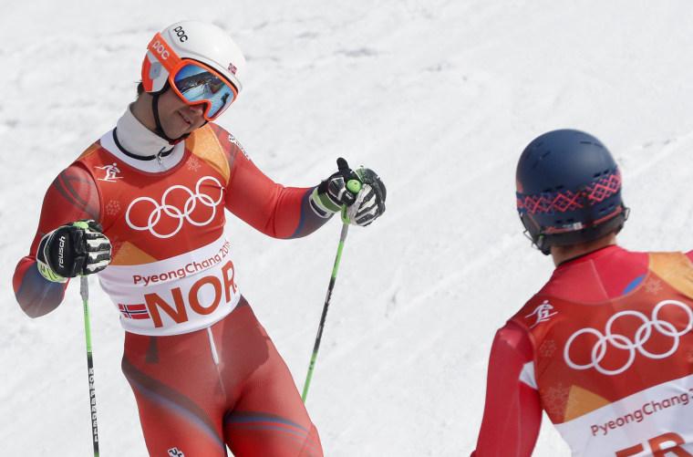 Image: Alpine Skiing - PyeongChang 2018 Olympic Games