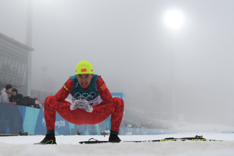Image: Cross-Country Skiing - Winter Olympics Day 15