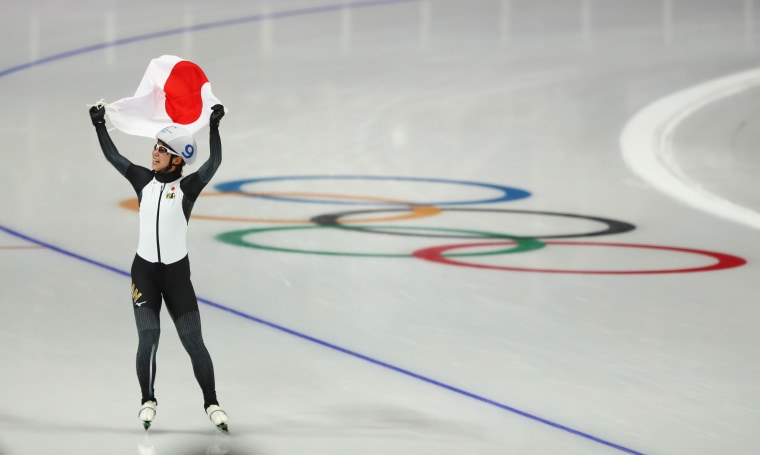 Image: Speed Skating - Winter Olympics Day 15