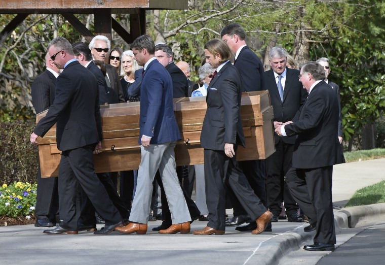 Image: Billy Graham procession