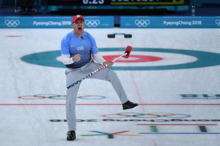 Image: US curler John Shuster