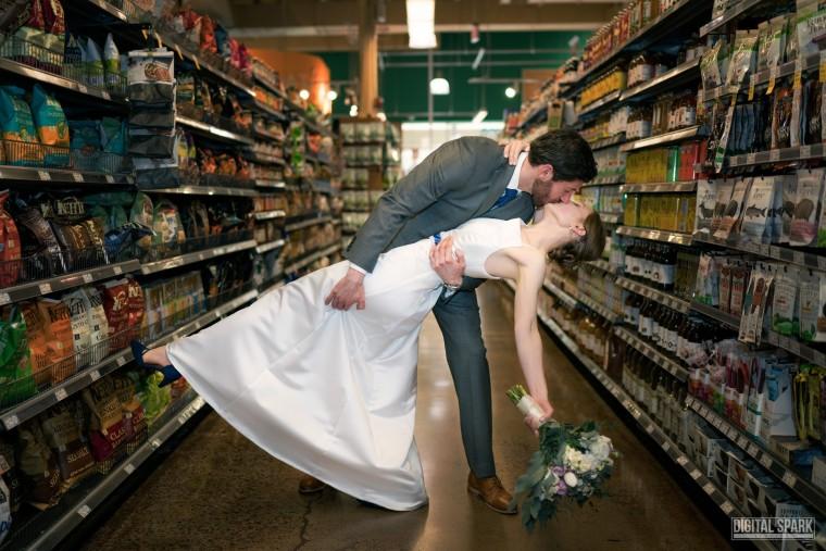 Chapel Hill Whole Foods hosts dream wedding.