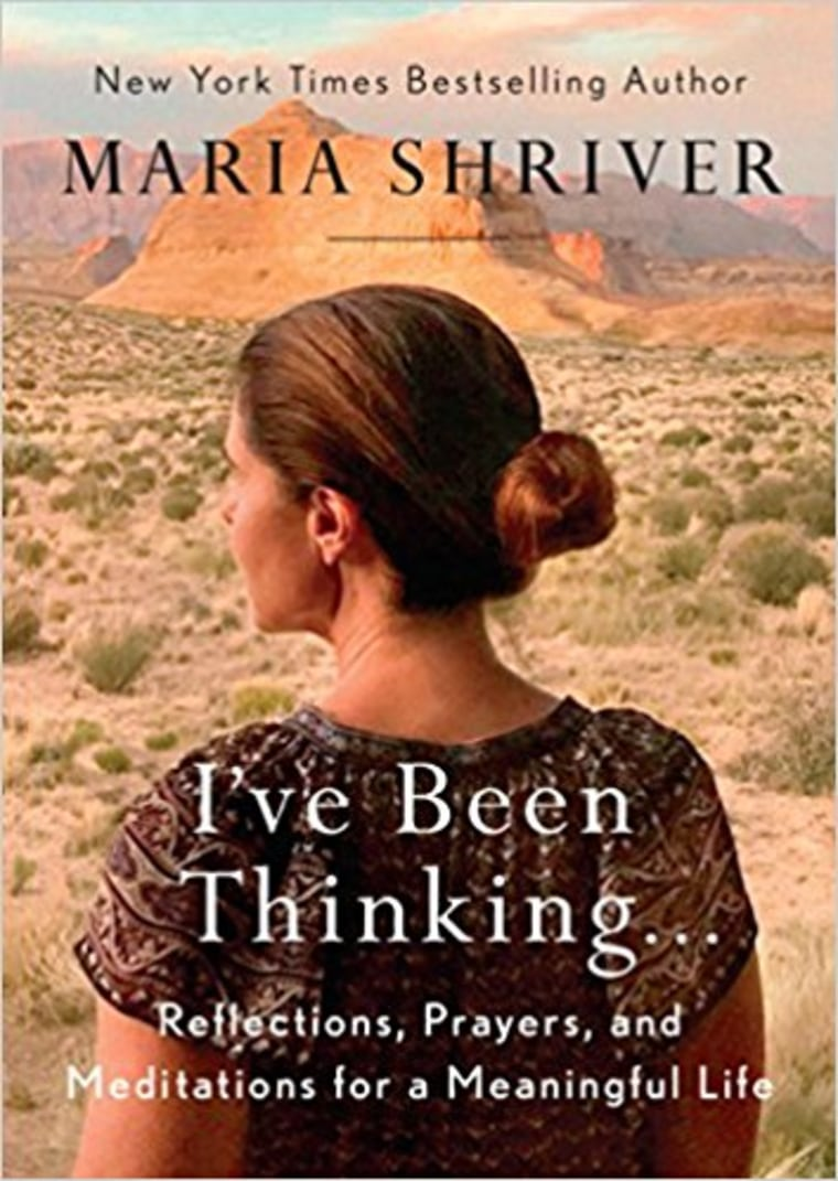 I've been thinking by maria schriver