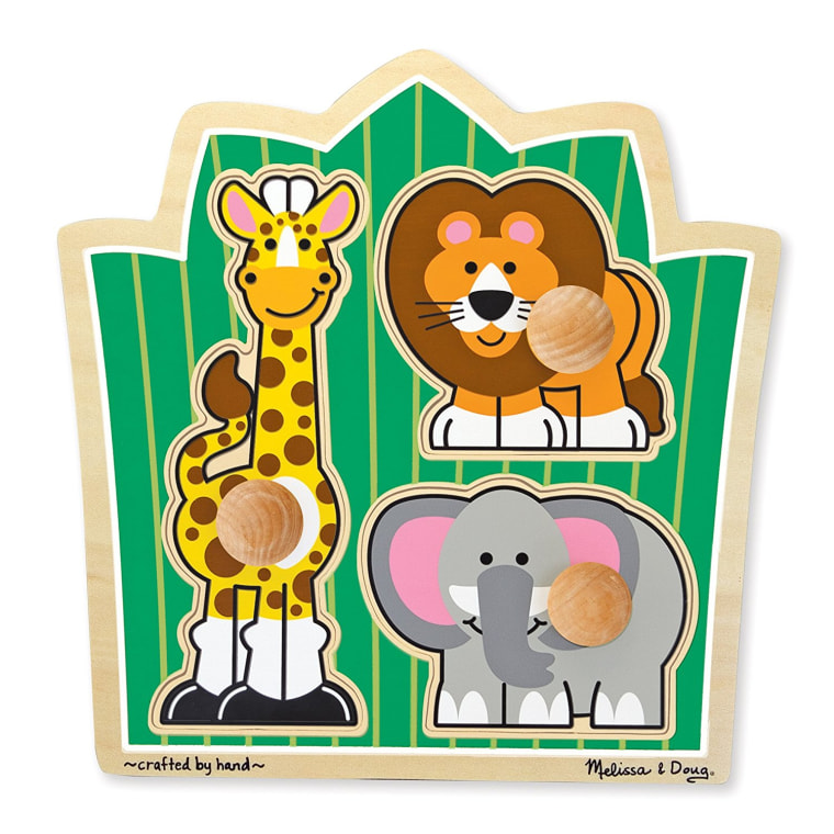 Melissa and Doug puzzle toy