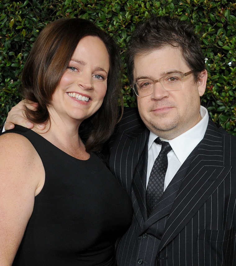 Patton Oswalt and wife Michelle McNamara