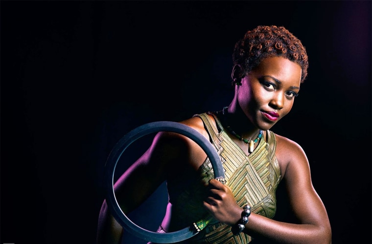 "Lupita Nyong'o stars as Nakia in ""Black Panther"""