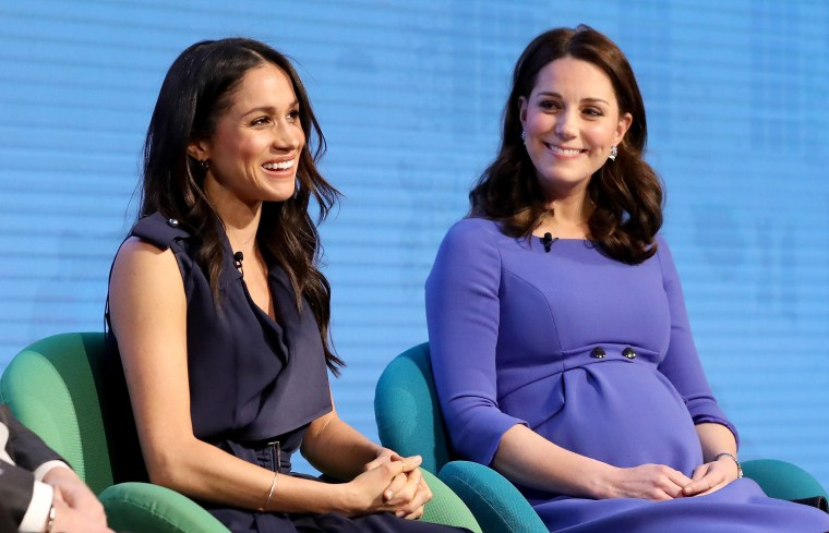 Future sisters-in-law, Meghan Markle and Catherine, Duchess of Cambridge.