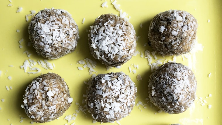 These keto power bites are packed with protein and easy to make ahead.