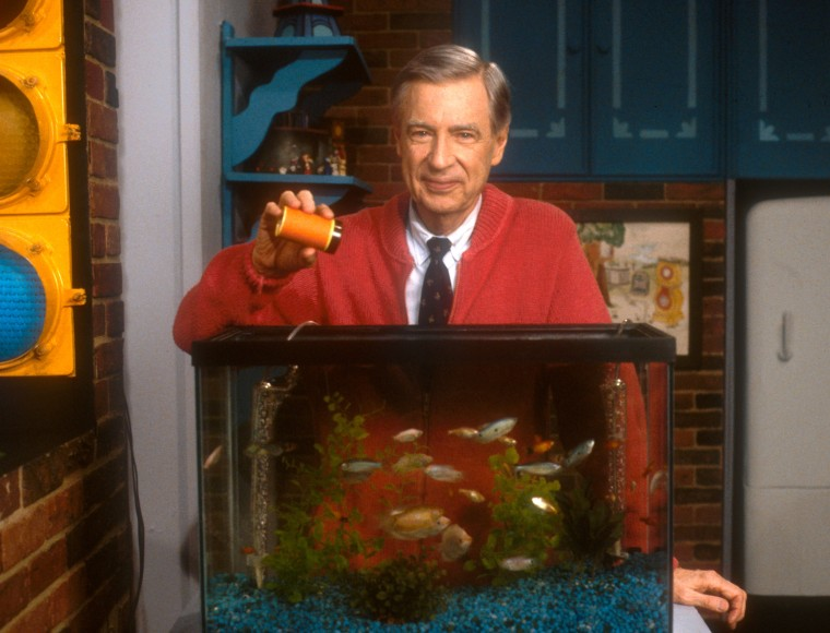 After a 5-year-old blind girl wrote a letter to Rogers asking him to tell her when he fed his fish, Rogers began narrating the feeding of his goldfish in every episode.