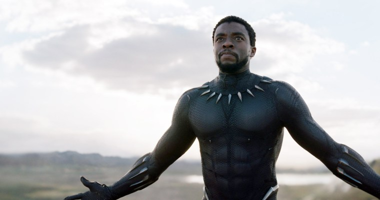 BLACK PANTHER, Chadwick Boseman, 2018. (C) Marvel