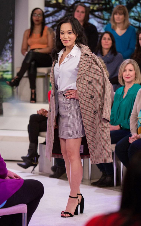 Spring fashion trends - checks