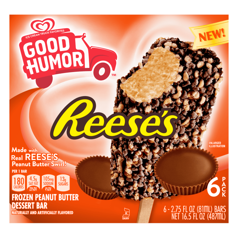 reese s ice cream bars and new outrageous candy bars